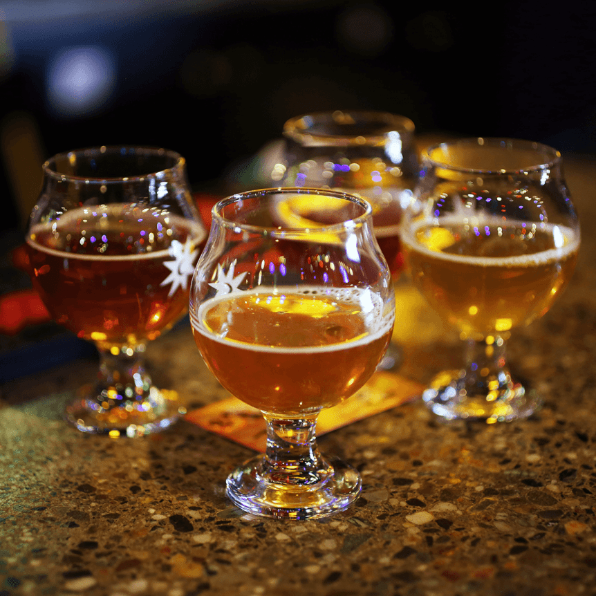 Image of a selection of Magic Hat Beers