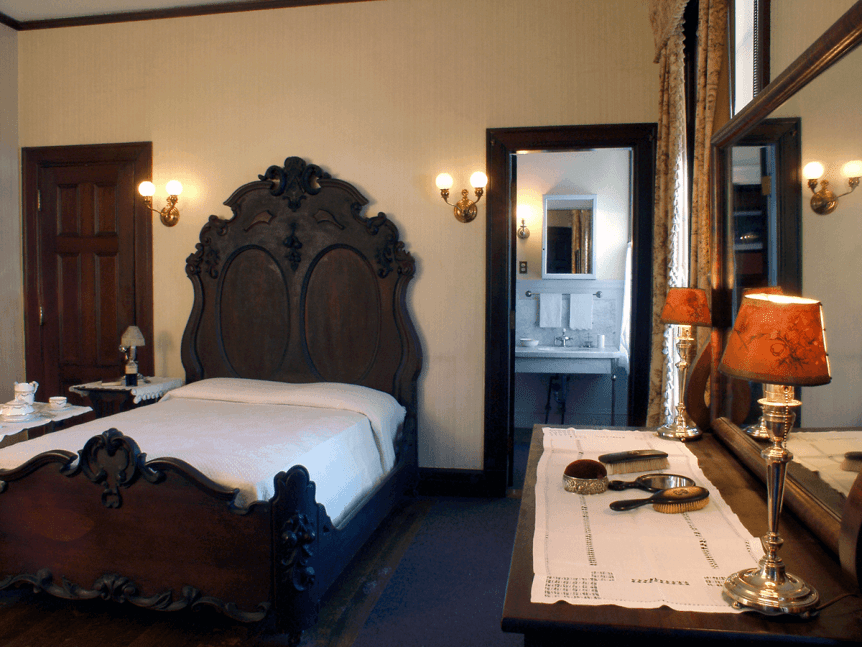 Image of bedroom at Hildene, The Lincoln Family Home