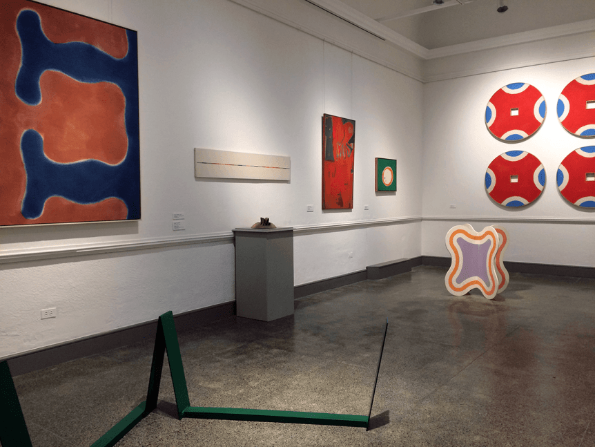 Image of the Modernism Gallery at Bennington Museum
