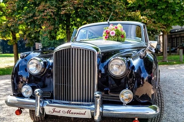 bentley wedding car oldtimer 4752999