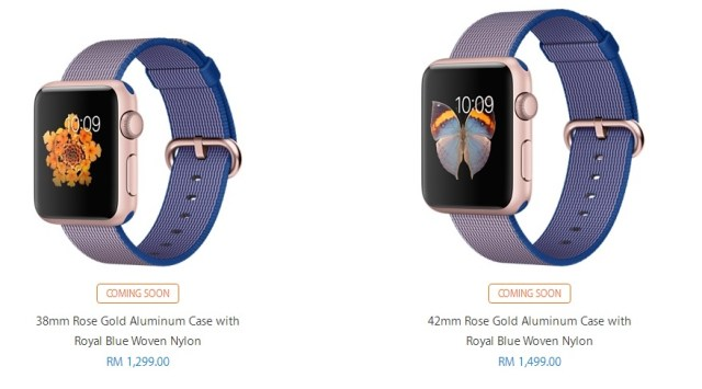 Apple Watches with Nylon