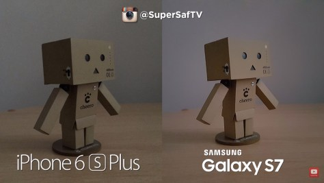 Galaxy S7 vs iPhone 6s - low light