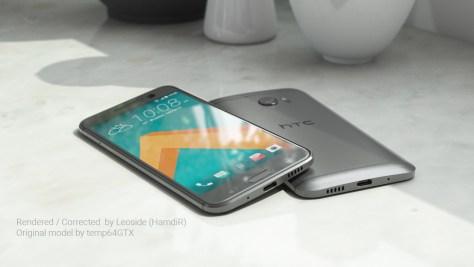 HTC 10 HD renders