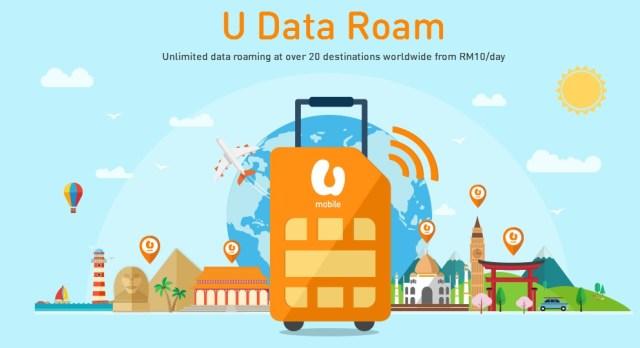 U Mobile U Data Roaming