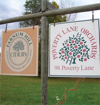 Poverty Lane Orchards / Farnum Hill Ciders