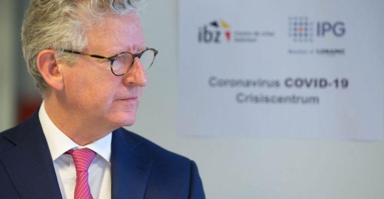 وزير الداخلية البلجيكي دي كريم