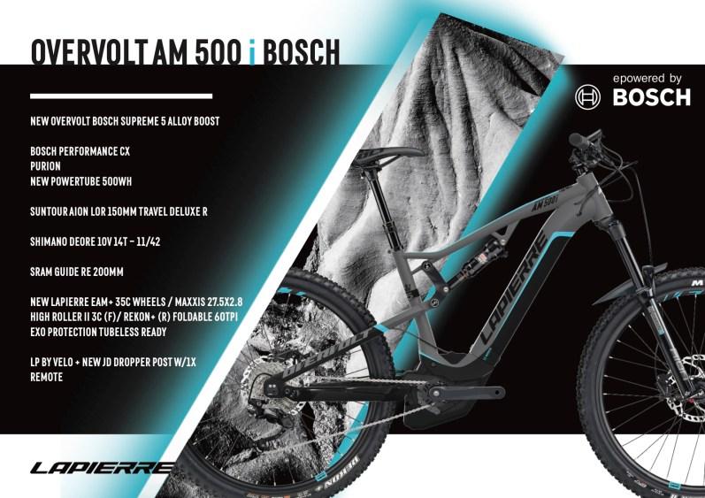 Lapierre Overvolt AM 500 i Bosch - 4399€