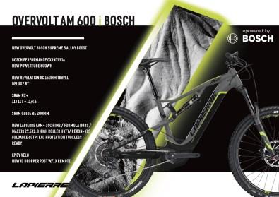 Lapierre Overvolt AM 600 i Bosch - 4999€