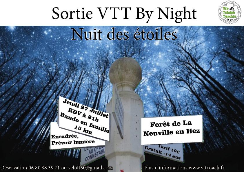 nuit des etoiles VTT