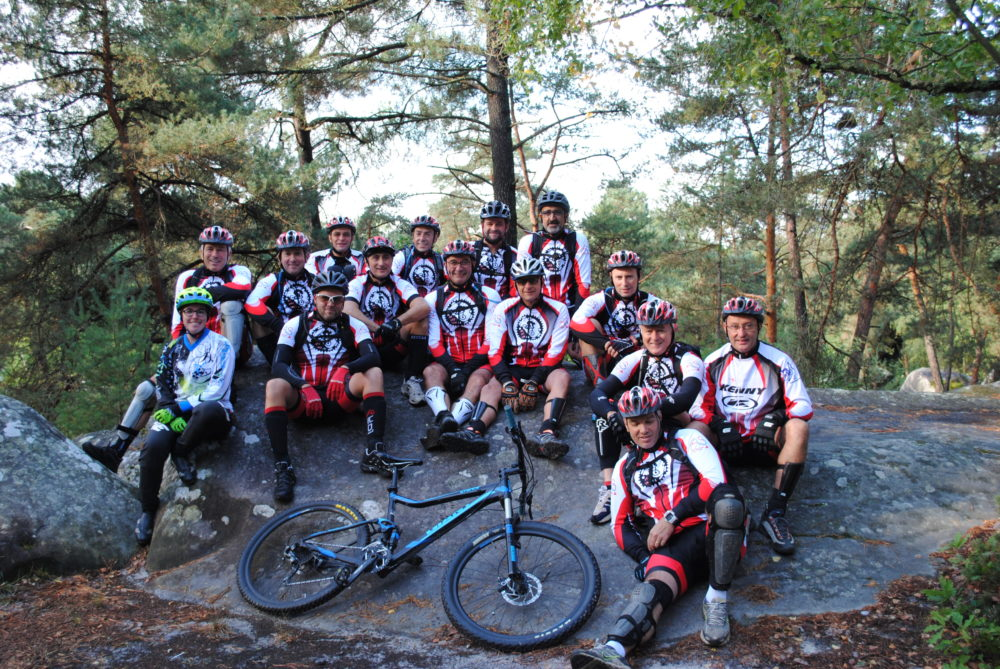 Week-end comité d'entreprise VTT Total Rider