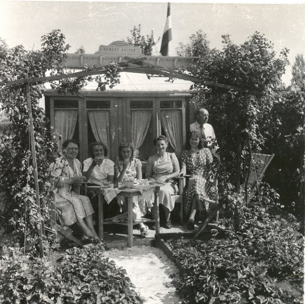'Zomers Buiten' jaren 50