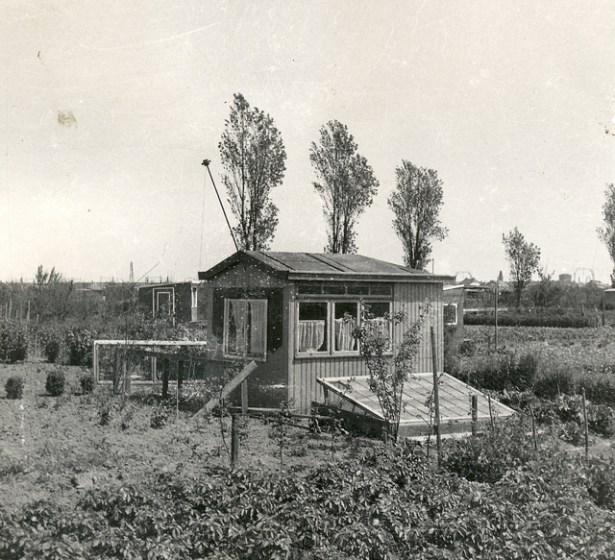 Huisje op de A. v. Stolkweg. 1939