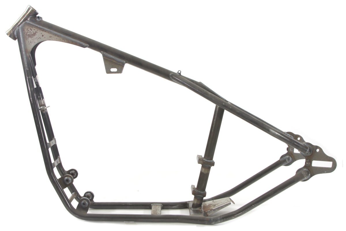 Custom Rigid Frame 40 Rake For Harley Davidson Motorcycles
