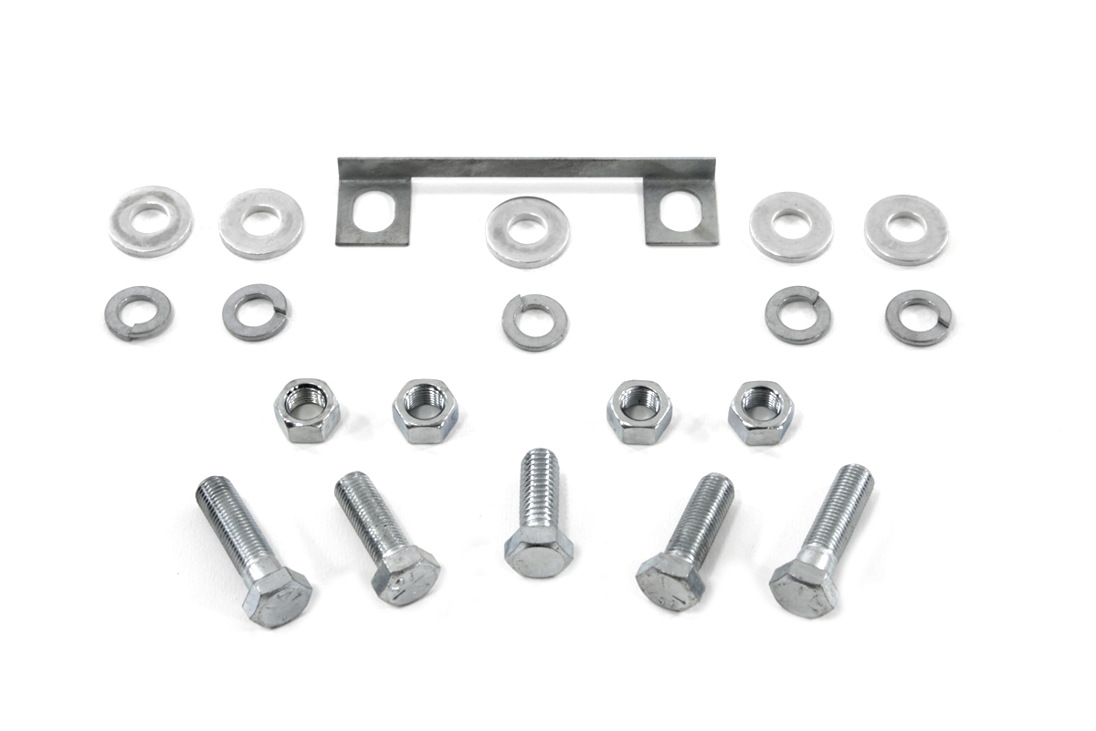 Transmission Mount Kit Zinc For Harley Davidson