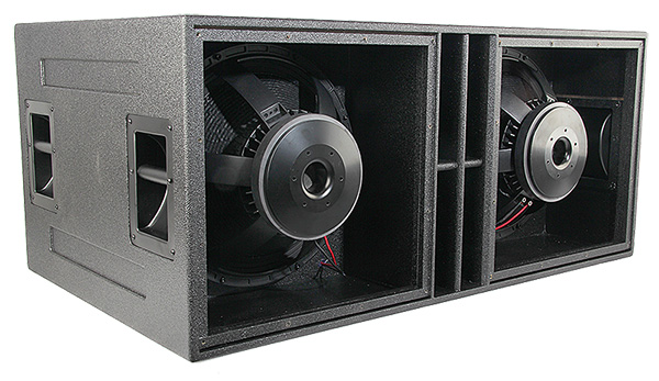 As 418 Quad 18 Inch Isobaric Subwoofer Vue Audiotechnik