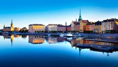 Ciudad vieja de Estocolmo. Foto: copyright depositphotos/mikdam