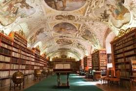 La bella biblioteca del Monasterio de Strahov. Imagen: ©depositphotos.com/SergeyAK