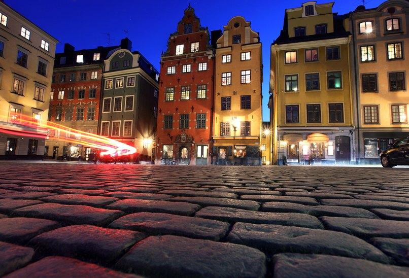 Plaza de Stortorget en Gamla stan, Estocolmo Foto: depositphotos/@ mikdam