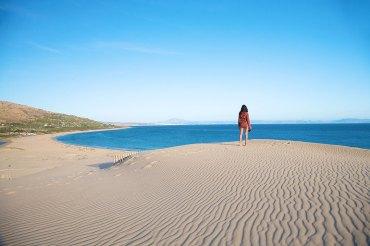 mar y gran duna, Valdevaqueros — Foto depositphotos© quintanilla