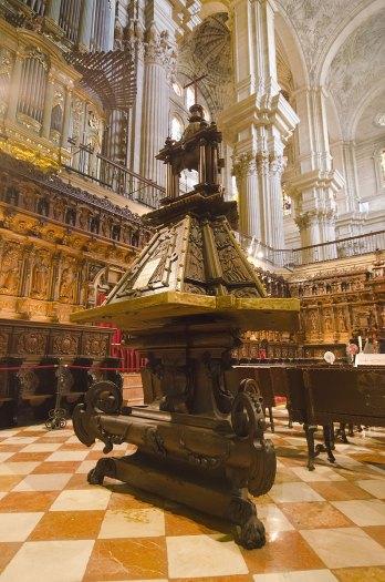 Interior de la Catedral de Málaga. Imagen: ©depositphotos.com/njaj