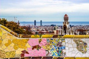 Barcelona desde el Park Guell. Imagen: ©depositphotos.com/sergiovcamacho