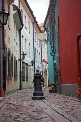 Casco antiguo de Riga, Letonia — Foto depositphotos © okssi68