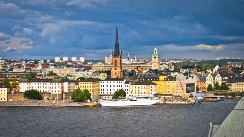Vistas del centro de Estocolmodesde uno de los miradores de Södermalm- Foto: Ricardo Ramirez Gisbert, CC BY 2.0