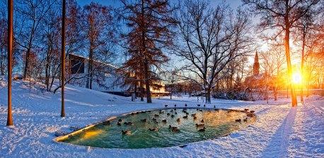 Parque en Helsinki. Imagen: ©depositphotos.com/ JuliaSha