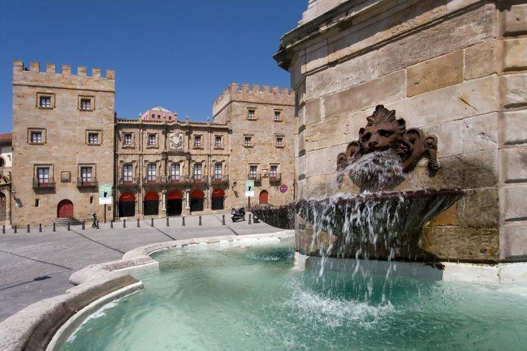 Palacio de Revillagigedo, Gijón, asturias, España - ©depositphotos/ javiergil