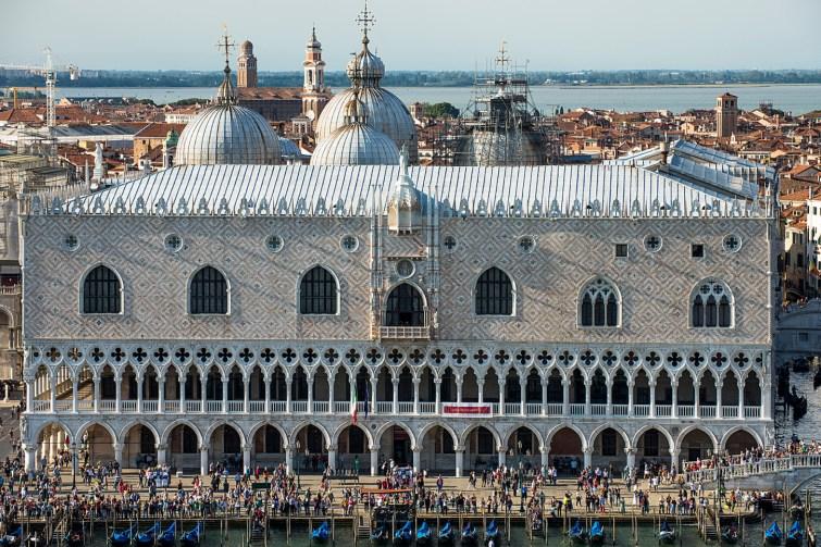 El Palacio Ducal; Venecia
