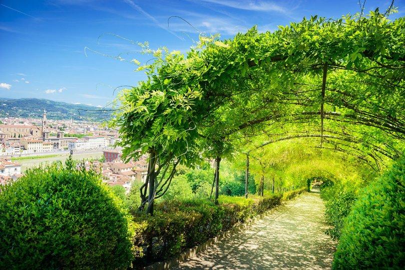 Los Jardines de Boboli, Florencia.