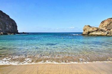 Playa del Papagayo, Lanzarote, Canarias.