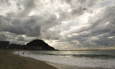 San Sebastian Donostia La Playa de La Zurriola