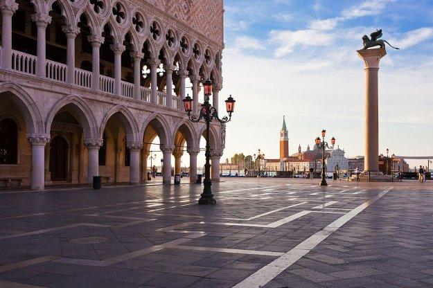 Palacio Ducal y Plaza San Marco; Venecia