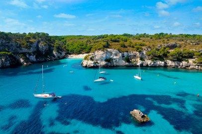 Cala Macarelleta, Menorca Foto: ©depositphotos/nito103