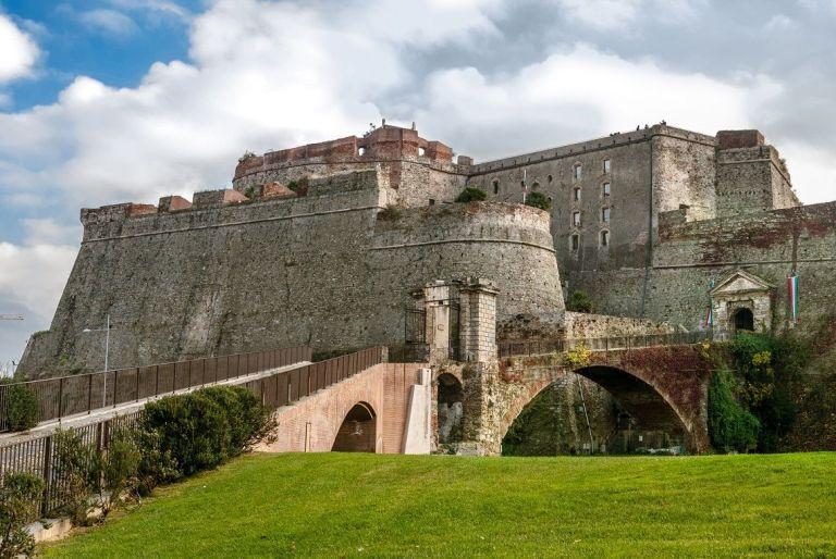 Fortaleza del Priamar, uno de los monumentos de Savona. Imagen: ©depositphotos.com/blunker
