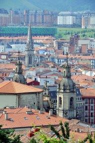 Vista aérea Casco Viejo de Bilbao Foto: ©depositphotos/MadrugadaVerde