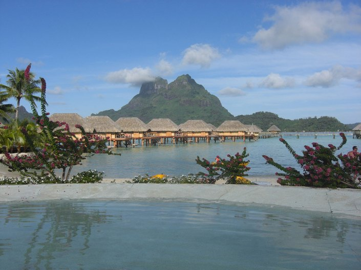Imagen: Bora Bora, Pearl Beach Resort porOlivier Bruchez, (CC BY-SA 2.0)