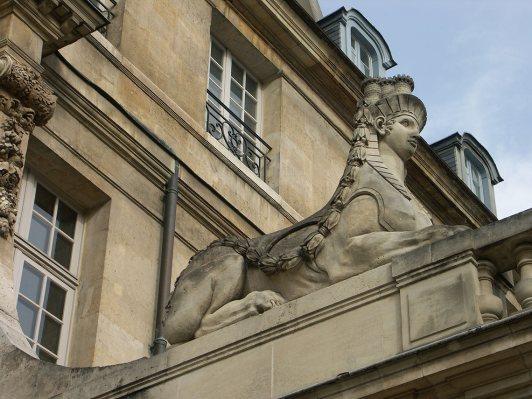La entrada del Museo Picasso, París.