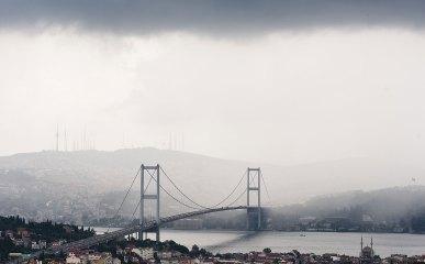 Puente de Bósforo Estambul Turquía