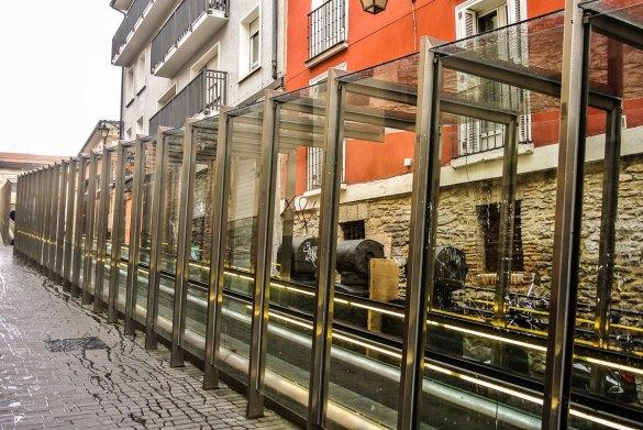 Escaleras acceso Zona Monumental
