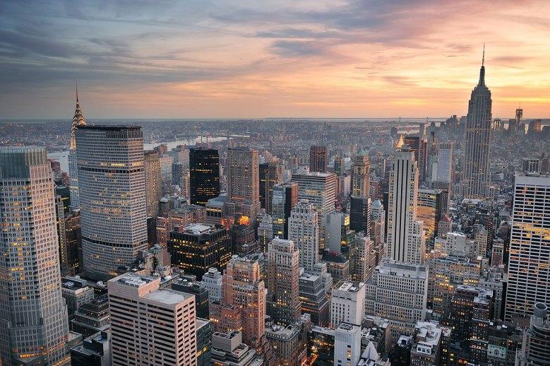 Vista de Manhattan, Nueva York