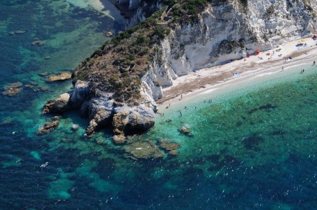 Playa de Capo Bianco, Portoferraio.