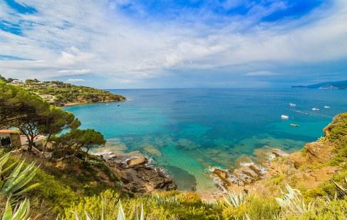 Playa de Innamorata, 4.8 km de Capoliveri., Isla de Elba.