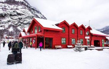Estación de trenes, Flåm, Noruega