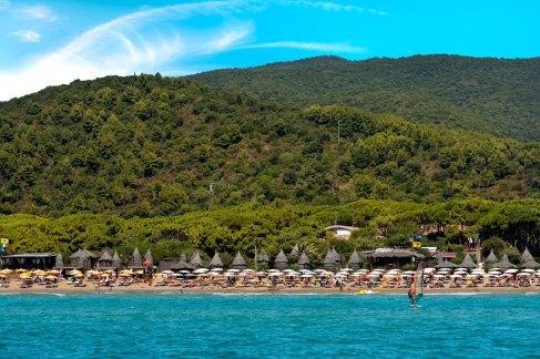 Playa del Lido, Golfo Stella, a 5,4 km de Capoliveri, Isla de Elba
