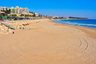 Playa del Miracle, Tarragona
