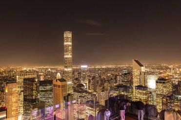 Vista de Nueva York desde el Top of the Rock, Rockfeller Center.
