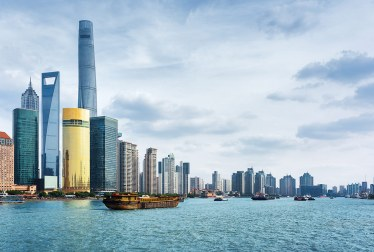 El rascacielos World Financial Center, Shanghai