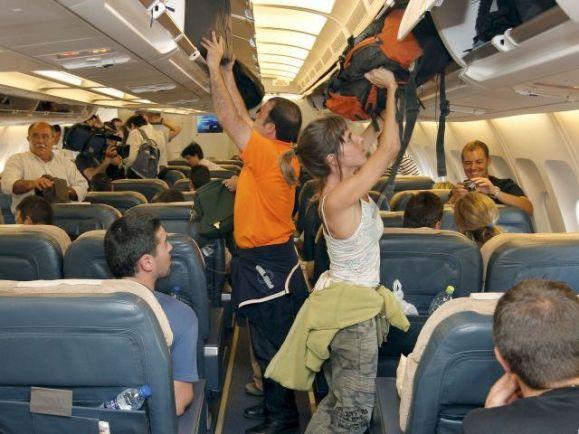 equipaje de mano aviones
